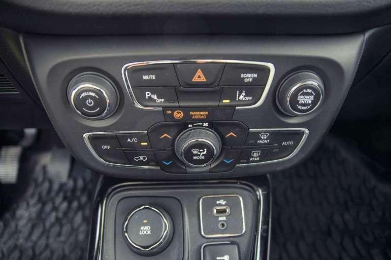 Jeep Compass - naszosę Jeep Compass - naszosę, wgóry iwlas 5