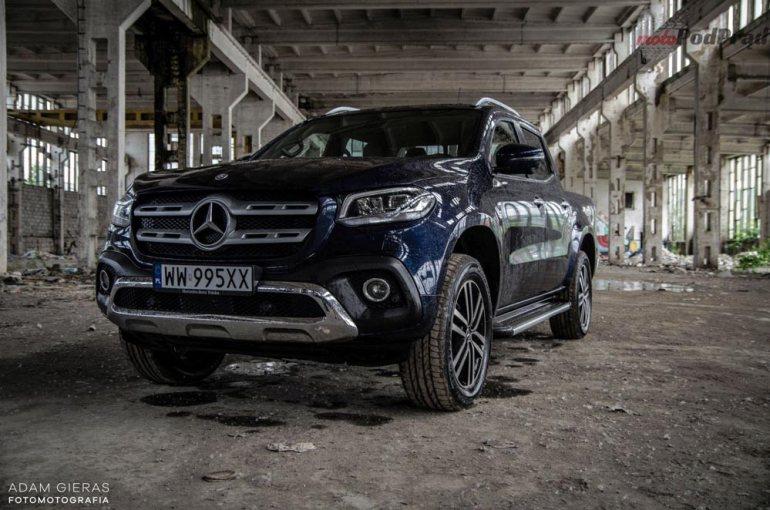 Mercedes X250d - czypick up może być luksusowy? [test] Mercedes X250d - czypick up może być luksusowy? [test] 1