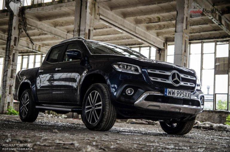 Mercedes X250d - czypick up może być luksusowy? [test] Mercedes X250d - czypick up może być luksusowy? [test] 3