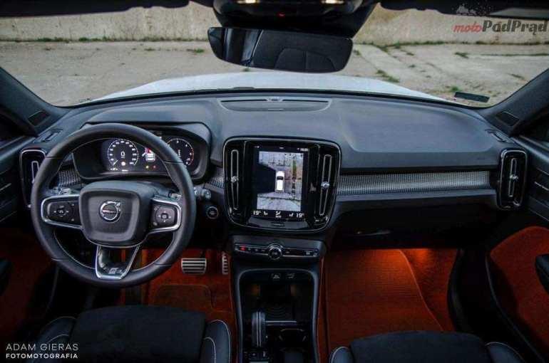 Volvo XC40 - dla lubiących się wyróżniać [test] Volvo XC40 - dla lubiących się wyróżniać [test] 5