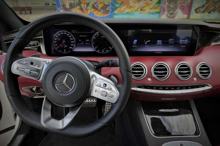 Mercedes S560 Coupe Mercedes S560 Coupe - osiągi, elegancja, prestiż. 4