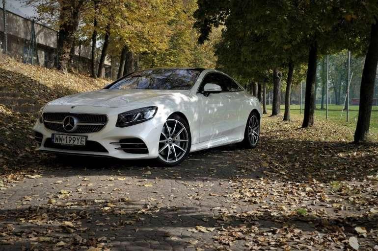 Mercedes S560 Coupe Mercedes S560 Coupe - osiągi, elegancja, prestiż. 1