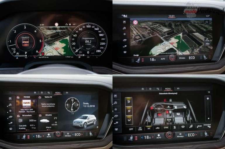 Volkswagen Touareg R-Line 3.0 TDI – technologia ponad wszystko Volkswagen Touareg R-Line 3.0 TDI – technologia ponad wszystko 3