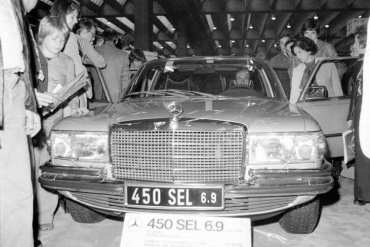 45 lat temu zadebiutował Mercedes-Benz 450 SEL 6.9 [historia]