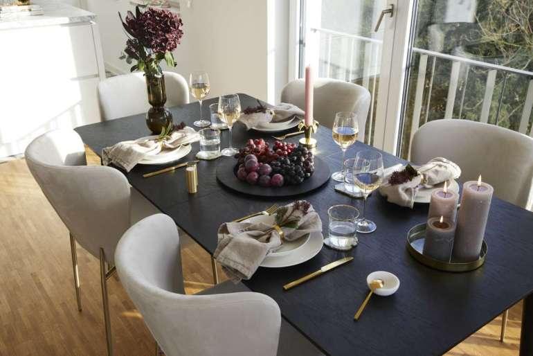 Domowy stół jak wrestauracji Domowy stół jak wrestauracji – jak go nakryć iudekorować 3