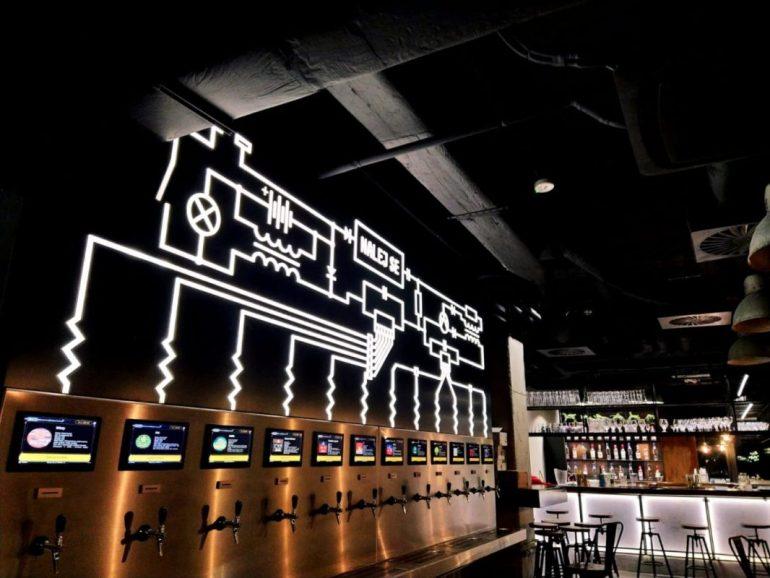 Samoobsługowy sklep piwny. Nalej se!