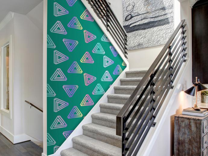 Tapety Tapety inspirowane geometrycznymi wzorami doróżnych stylów 2