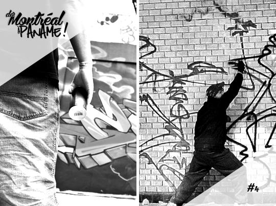 De Montréal à Paname! #4 Graffiti