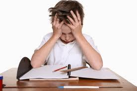 enfant stressé