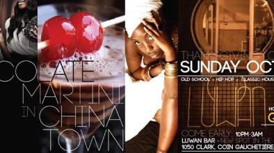 CHOCOLATE MARTINI Luwan - Lounge Urbain