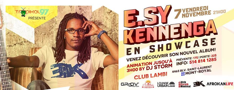 E.SY KENNENGA Montréal