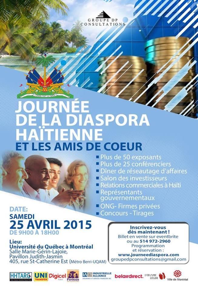 Journée nationale de la diaspora haïtienne à Montréal