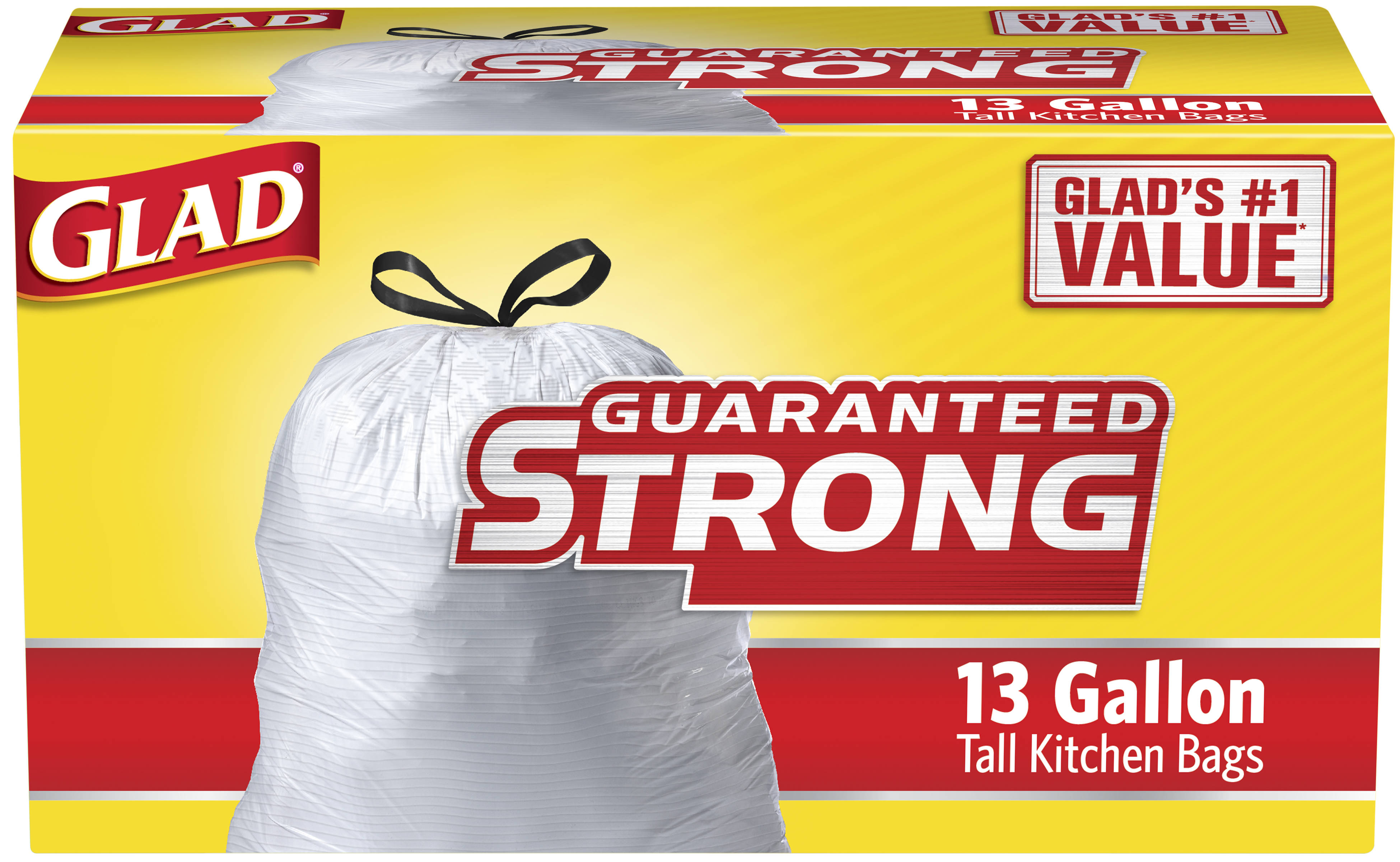 glad kitchen trash bags led light fixtures garbage 13 gallon  lou perrine 39s
