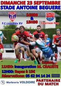 Read more about the article Lourdes : Résultats du weekend et prochaines rencontres du FCL XV