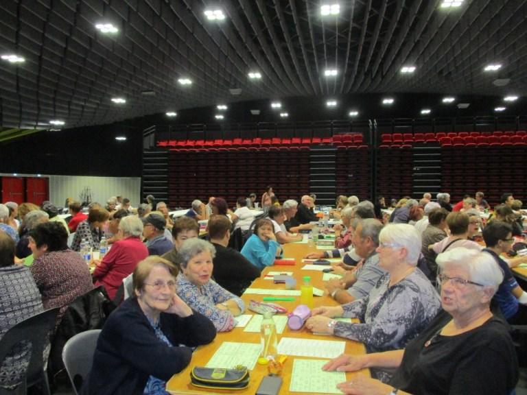 Lourdes : beau succès du loto des Basques