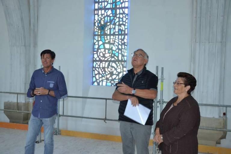 Lourdes : les travaux de l'église paroissiale programmés par la Ville se poursuivent
