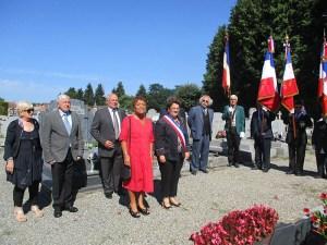 Très belle Cérémonie patriotique commémorant le 74ème anniversaire de la Libération de Lourdes