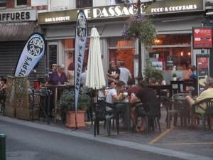 Lourdes : « Le Passage » a effectué sa « Terrasse en fête »