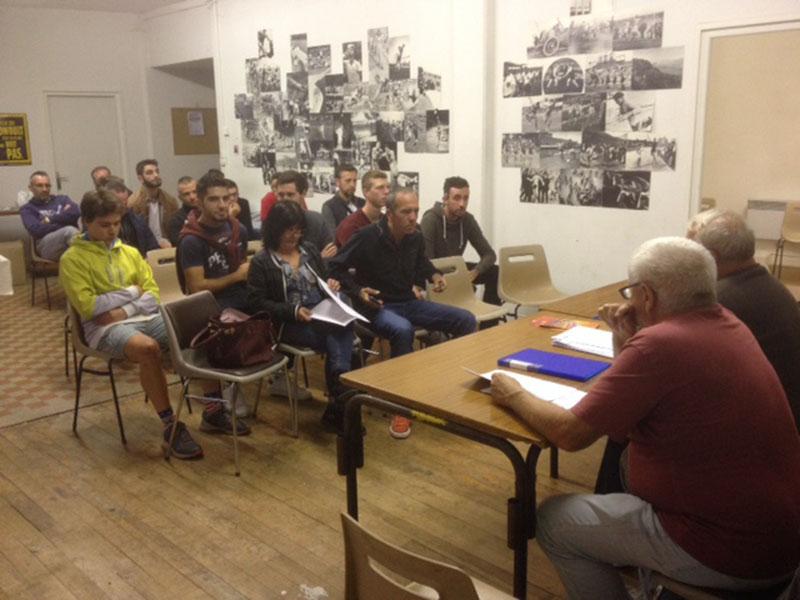 Lourdes : Assemblée générale annuelle 2018 de l'Union Vélocipédique
