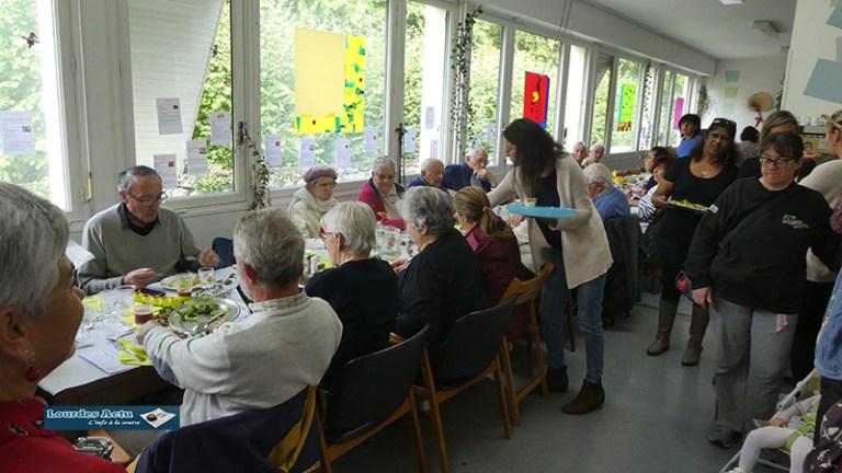 Lourdes : le Repas du goût de l'Epicerie solidaire au foyer Myriam aux couleurs et saveurs de l'automne