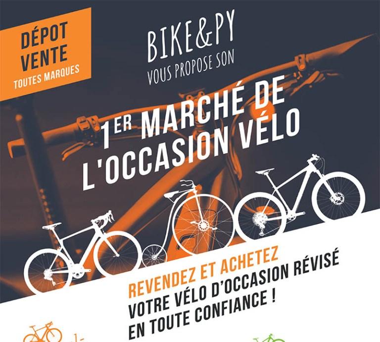 Lourdes : Bike & Py : Marché de l'Occasion vélo + Soirée anniversaire avec Apéro festif