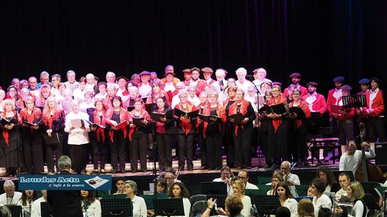 Lourdes : du monde, de la convivialité, de la diversité artistique au Concert de la Sainte Cécile