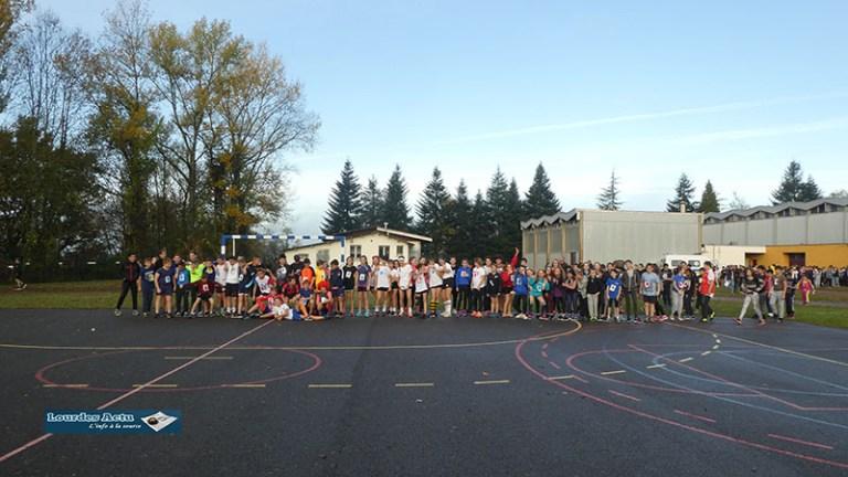 Lourdes : le collège/lycée de Sarsan en Cross !