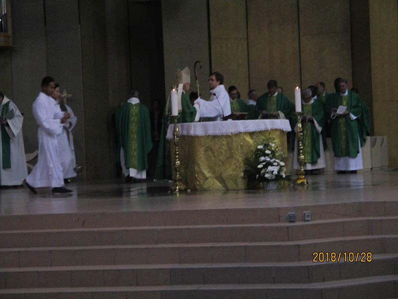 Lourdes : très belle Messe solennelle des Gardians