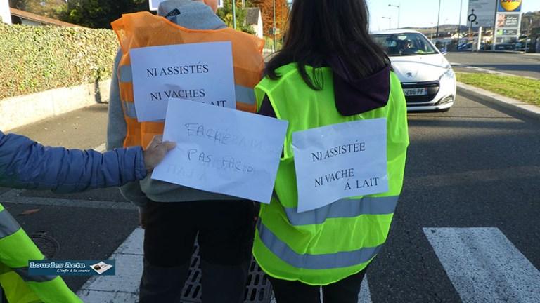 Read more about the article Lourdes a eu aussi ses manifestations de «Gilets jaunes»
