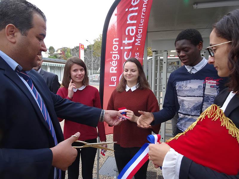 Lourdes : Inauguration des travaux du lycée de l'Arrouza
