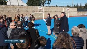 Read more about the article Lourdes : belle inauguration de l'Espace multisports du Fronton