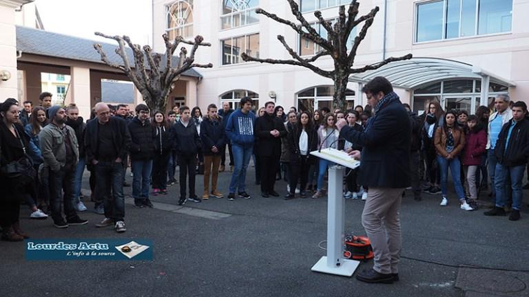 Lourdes : cérémonie de  remise des diplômes du Brevet au collège Saint-Joseph
