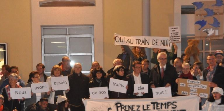 Communiqué de Presse «Oui au train de nuit» : les élus se mobilisent pour les Intercités de nuit