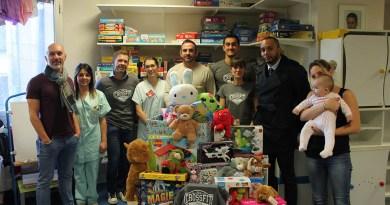 Remise de cadeaux par Crossfit Tarbes aux enfants de pédiatrie