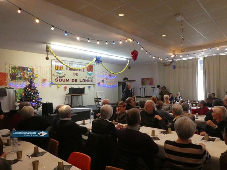 Lourdes : spectacle original et gourmandises raffinées au Goûter de Noël de Soum de Lanne