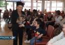 Lourdes : Arbre de Noël au Foyer du Petit Jer