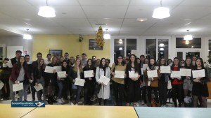 Lourdes : Cérémonie républicaine de remise des diplômes du BAC  au Lycée de Sarsan