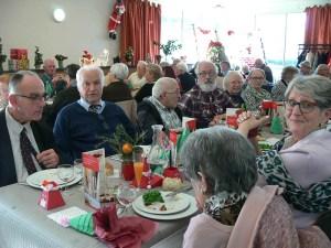 Lourdes : Repas solidaire de Noël des «Petits frères des pauvres» et «Vaincre l'Indifférence»