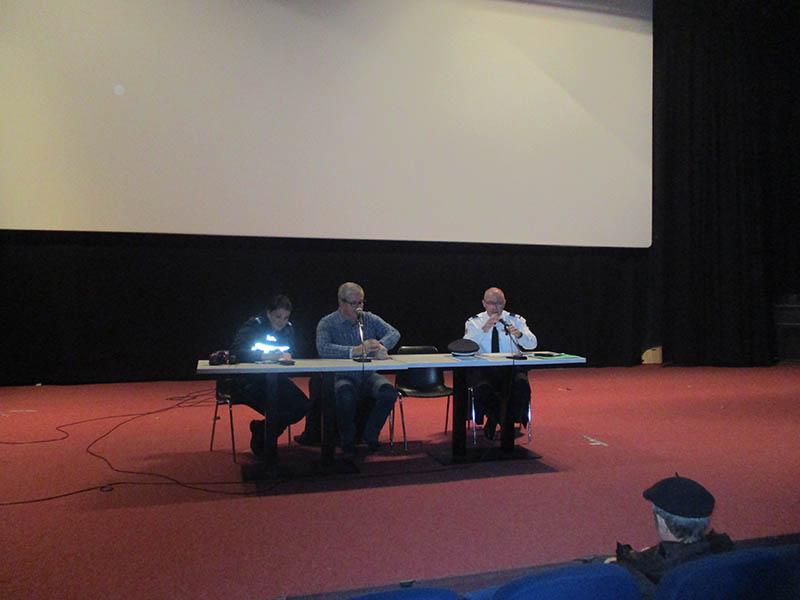 Lourdes : très intéressante Réunion de sensibilisation et de prévention sur la Sécurité auprès des seniors