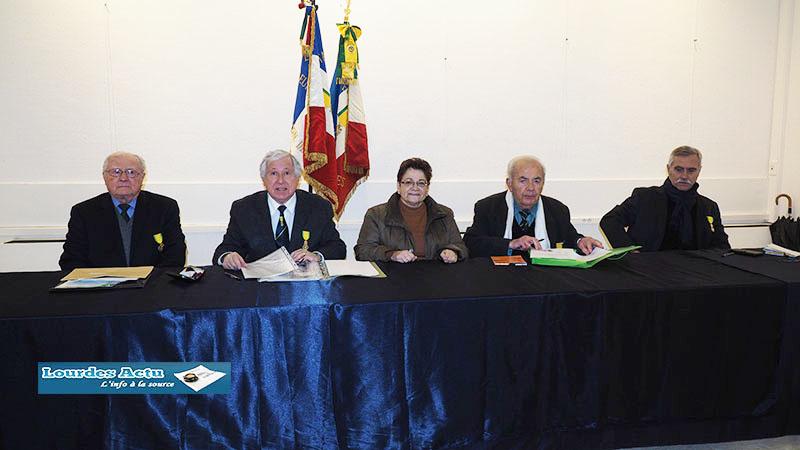 Lourdes : Assemblée générale des Médaillés Militaires
