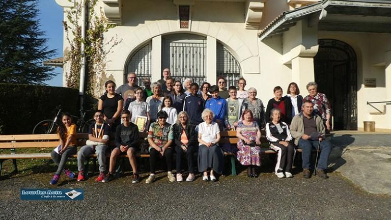 Lourdes : belle animation intergénérationnelle organisée par le Service communal Vie Citoyenne Jeunesse à l'Ophite