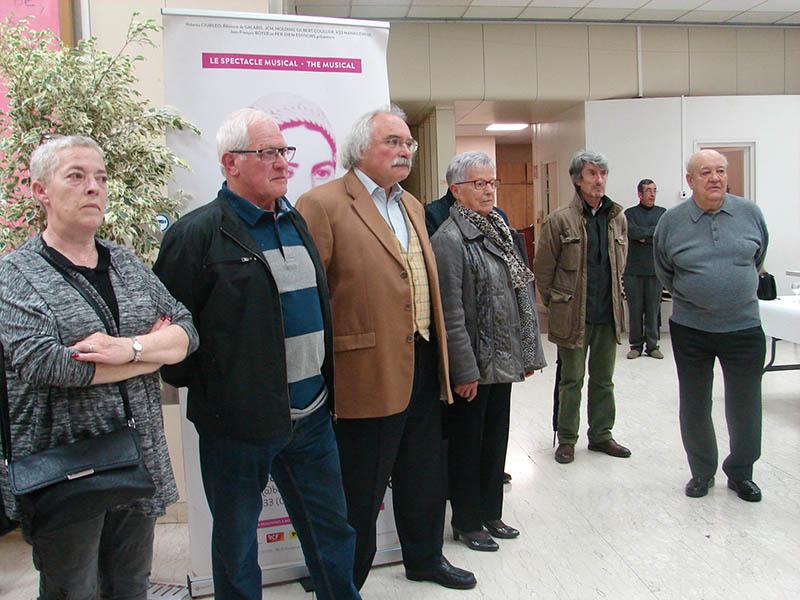 Lourdes : Vernissage de l'expo de la FNACA sur la Guerre d'Algérie