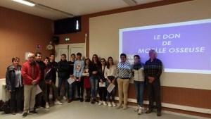 Lourdes : les lycéens de Sarsan s'engagent aux côtés de la Sapaudia 65 pour sensibiliser au don de moelle osseuse.
