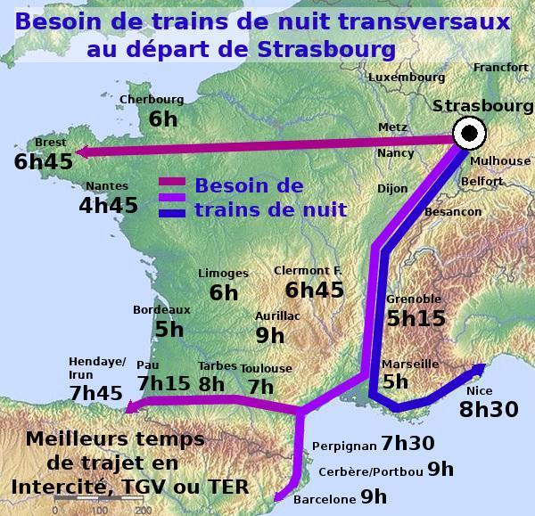 Communiqué du collectif  «Oui au train de nuit», Européennes : quels candidats feront avancer le réseau européen des trains de nuit ?