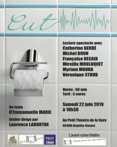 Argelès-Gazost : «CUT» au Petit Théâtre de la Gare