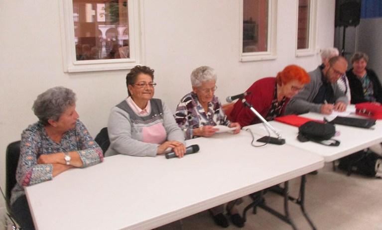 Lourdes : Assemblée générale du Club du 3ème âge de Lannedarré