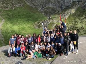Lourdes : des collégiens de Saint Joseph/Peyramale en Aragon pour  « faire trace »
