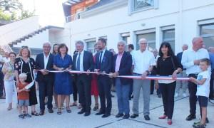 Read more about the article Poueyferré : de nombreuses personnalités à l'inauguration de la rénovation de l'ensemble mairie, salle des fêtes et espace associations