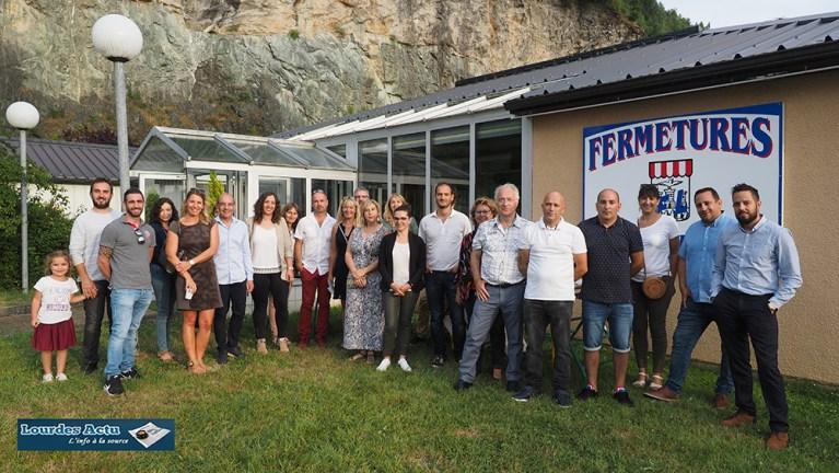 Soirée CAFFE 65 chez l'entreprise «Aux Fermetures Lourdaises»