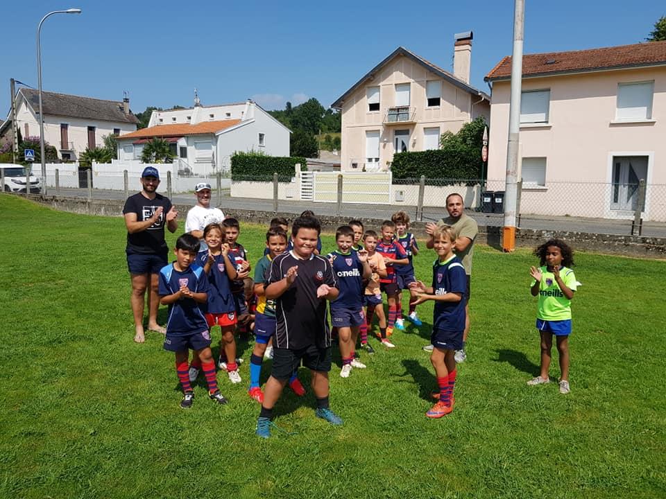 L'école de rugby «Pays de Lourdes XV» a rechaussé les crampons !